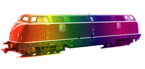 'The Rainbow Train'